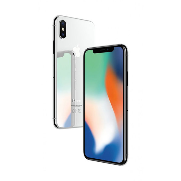 Мобилен телефон Apple IPHONE X 256GB SILVER MQAG2
